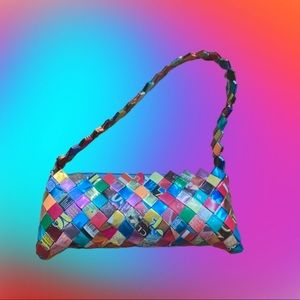 Vintage Y2K Upcycled Mexican Candy Wrapper Purse